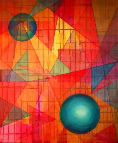 Heidi Schröder, Ohne Titel, Movement, Decorative Art, Cubism