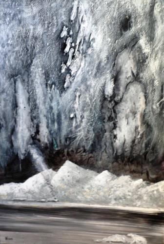 Heidi Schröder, Verträumte Winterlandschaft, Landscapes, Times: Winter, Naturalism