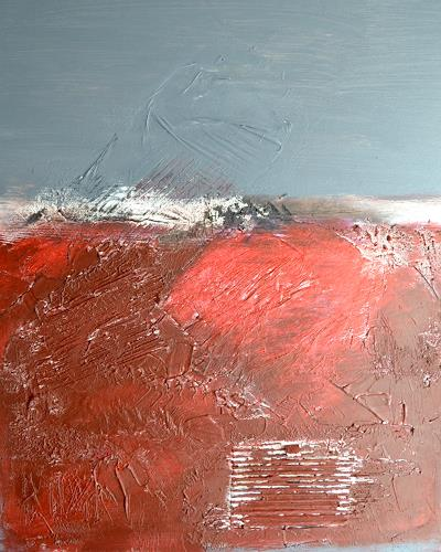Christiane Emert, Abend(R)ot, Abstract art, Abstract art, Non-Objectivism [Informel]