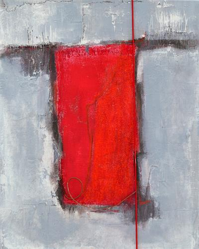 Christiane Emert, auf halber strecke, Abstract art, Non-Objectivism [Informel]