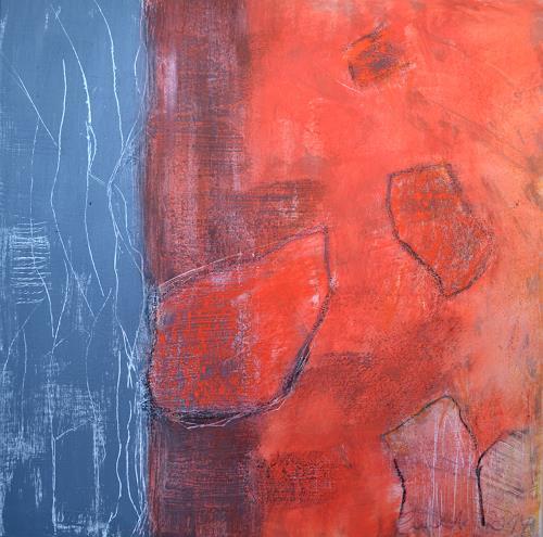 Christiane Emert, gedankenberge, Abstract art, Non-Objectivism [Informel]