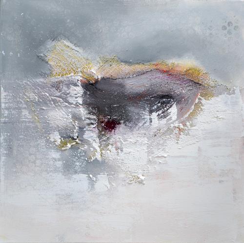 Christiane Emert, grauer fleck, Abstract art, Non-Objectivism [Informel], Expressionism