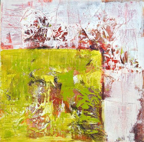 Christiane Emert, grüne sicherheit, Abstract art, Non-Objectivism [Informel]