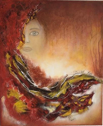 Oli (Olivia) Melly, Harmonie 2, Abstract art, Abstract Art