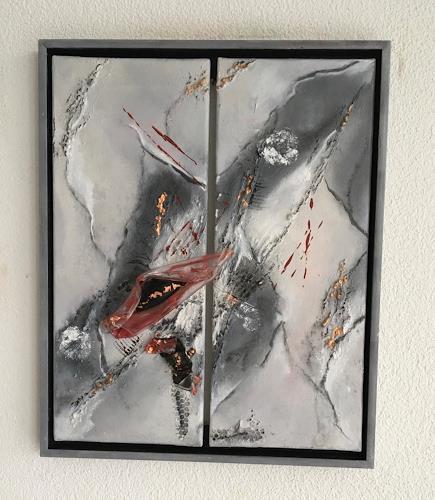 Oli (Olivia) Melly, o. T., Abstract art, Abstract Art
