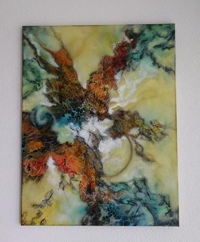Oli (Olivia) Melly, Ohne Titel, Abstract art, Emotions, Abstract Art