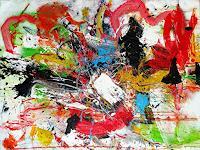 Vera-Komnig-Abstract-art-Abstract-art-Modern-Age-Abstract-Art-Action-Painting