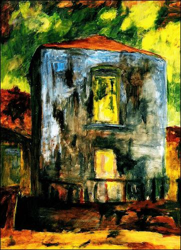 Udo Greiner, Villa Franka I, Buildings, Interiors, Expressionism, Abstract Expressionism