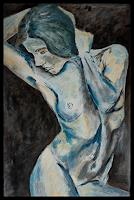 Udo-Greiner-Nude-Erotic-motifs-People-Modern-Age-Expressionism