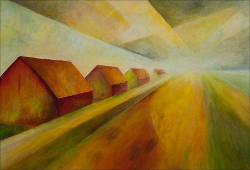 Udo Greiner, Oderbruch, Landscapes, Landscapes: Plains, Modern Age