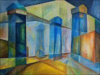 Udo-Greiner-Landscapes-Buildings-Modern-Age-Expressionism