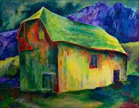 Udo-Greiner-Landscapes-Mythology-Modern-Age-Expressionism