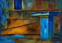 Udo-Greiner-Fantasy-Mythology-Modern-Age-Expressive-Realism