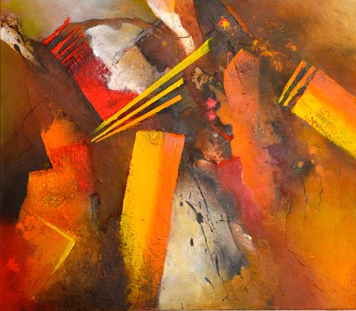 Tania Klinke, Big Bang, Abstract art, Miscellaneous, Contemporary Art, Abstract Expressionism