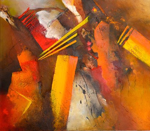 Tania Maria Klinke, Big Bang, Abstract art, Miscellaneous, Contemporary Art, Abstract Expressionism