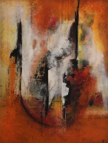 Tania Klinke, Cirque, Abstract art, Miscellaneous, Contemporary Art