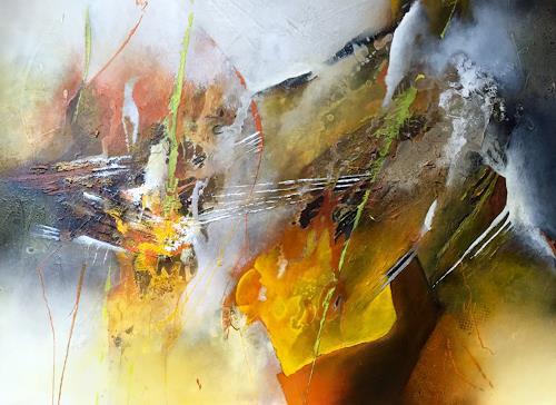 Tania Maria Klinke, Courage, Abstract art, Miscellaneous, Modern Age, Expressionism