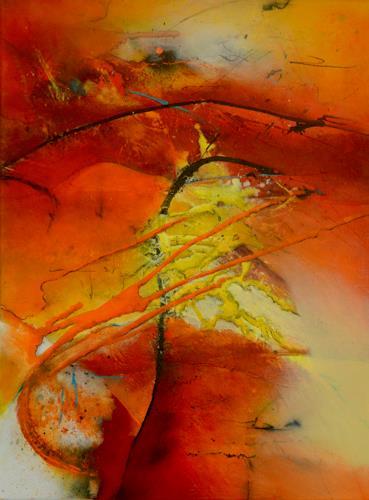 Tania Klinke, Basic-instinct, Abstract art, Miscellaneous, Contemporary Art, Expressionism