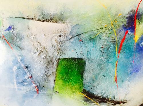Tania Klinke, Eingebung, Abstract art, Miscellaneous, Contemporary Art, Expressionism