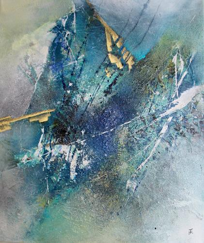 Tania Klinke, Bergzauber, Abstract art, Miscellaneous, Modern Age, Abstract Expressionism