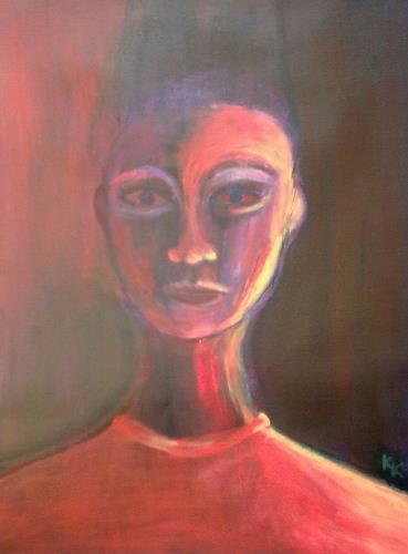 Karin Kraus, o.T., People: Women, Expressive Realism