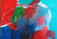 Karin-Kraus-Fantasy-Abstract-art-Modern-Age-Expressionism-Abstract-Expressionism