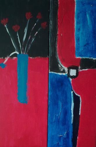 Karin Kraus, Duo color, Abstract art, Abstract art, Abstract Art