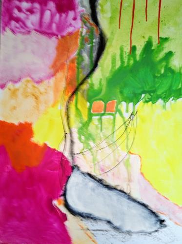 Karin Kraus, Adieu Tristesse, Abstract art, Fantasy, Abstract Expressionism