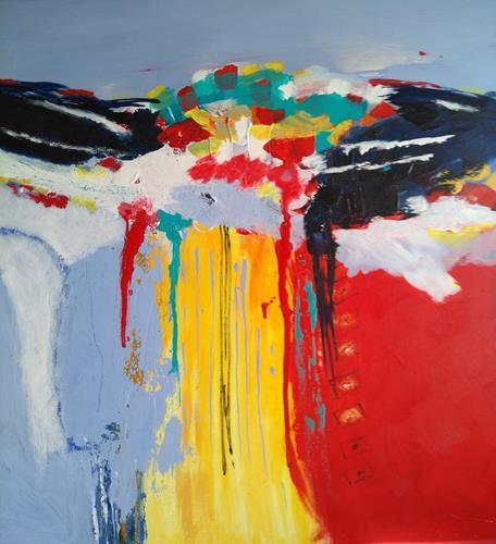 Karin Kraus, o.T.21/6, Abstract art, Abstract art, Abstract Art, Expressionism