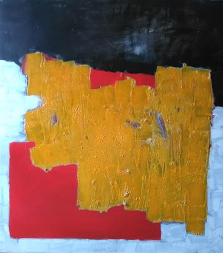 Karin Kraus, o.T.2021/8, Abstract art, Abstract art, Colour Field Painting, Abstract Expressionism