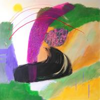 Karin-Kraus-Fantasy-Abstract-art-Modern-Age-Abstract-Art-Art-Brut