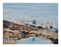 Norbert-von-Bertoldi-Landscapes-Mountains-Modern-Age-Impressionism-Post-Impressionism