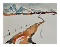 Norbert-von-Bertoldi-Landscapes-Winter-Contemporary-Art-Neo-Expressionism