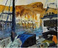Norbert-von-Bertoldi-Landscapes-Sea-Ocean-Modern-Age-Impressionism-Neo-Impressionism