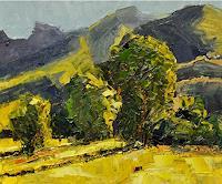 Norbert-von-Bertoldi-Landscapes-Plains-Modern-Age-Impressionism-Neo-Impressionism