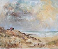 Norbert-von-Bertoldi-Landscapes-Sea-Ocean-Modern-Age-Impressionism-Post-Impressionism