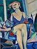 Norbert von Bertoldi, Hallo ....Mike!, People: Women, Erotic motifs: Female nudes, Expressive Realism