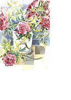 Joan-Stephan-Still-life-Plants-Flowers-Modern-Times-Realism