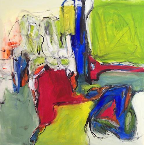 Christel Haag, Arabesque, Abstract art, Contemporary Art