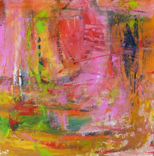 Christel Haag, Summer Dream, Abstract art, Contemporary Art