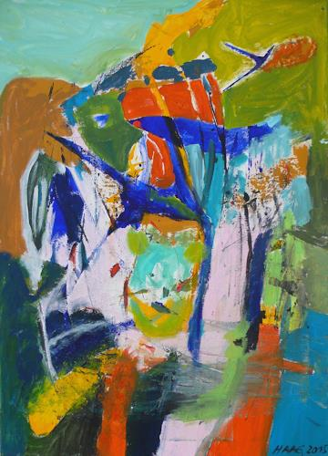 Christel Haag, Miami Love Affair, Abstract art, Abstract Art