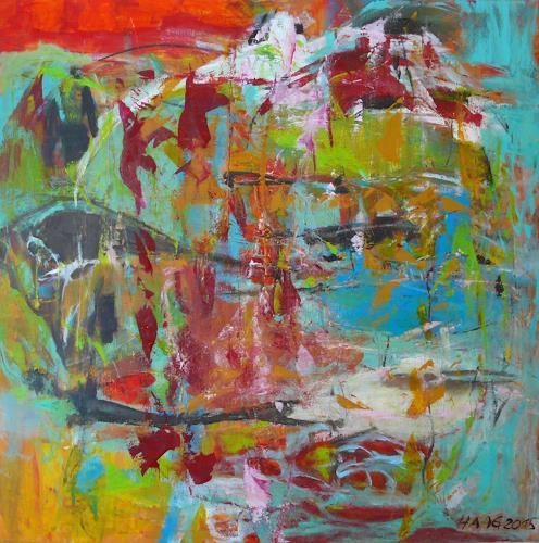 Christel Haag, Fernweh, Abstract art, Contemporary Art