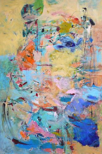 Christel Haag, Born to be Free, Fantasy, Abstract Art, Abstract Expressionism