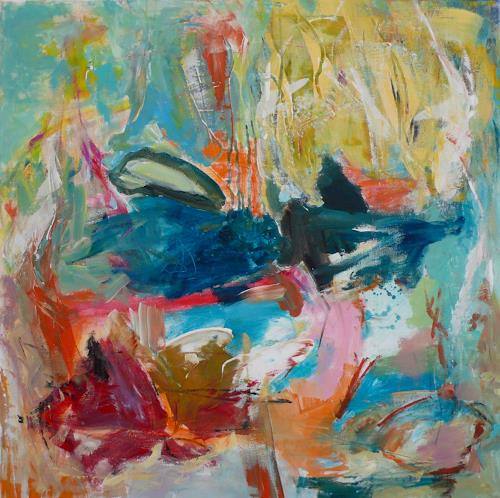 Christel Haag, Breaking Through, Abstract art, Contemporary Art