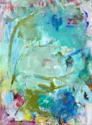 Christel Haag, Green Soul, Abstract art, Contemporary Art