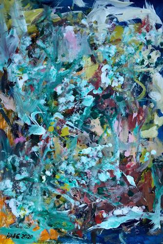 Christel Haag, Voll das Leben, Abstract art, Contemporary Art