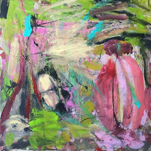 Christel Haag, Silently, Abstract art, Contemporary Art, Abstract Expressionism