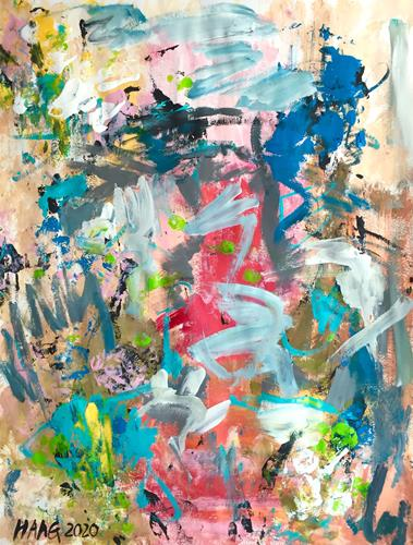 Christel Haag, The Story of Her Life, Abstract art, Contemporary Art