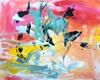 Christel Haag, Caribbean Sunset, Abstract art, Contemporary Art