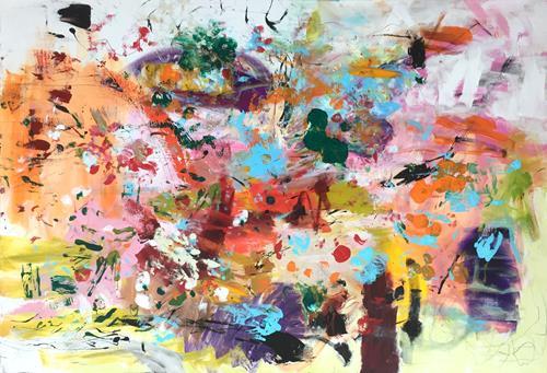 Christel Haag, Baum des Lebens, Abstract art, Contemporary Art